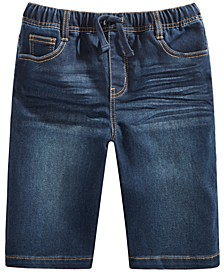 Big Boys Keith Stretch Denim Shorts, Created for Macy's