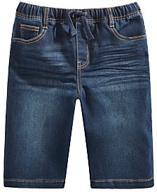 Epic Threads Big Boys Keith Stretch Denim Shorts, Created for Macy's