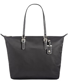 Tommy Hilfiger Julia Zipper Nylon Tote