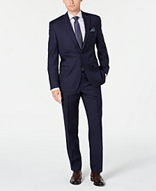 Lauren Ralph Lauren Men's Classic-Fit UltraFlex Stretch Navy Solid Suit Separates