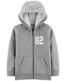 Carter's Little & Big Boys Zip-Up Fleece Hoodie
