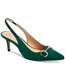 INC Carynn Pointed-Toe Kitten Heels, Created for Macy's