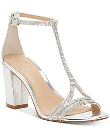 I.N.C. Keyla T-strap Evening Sandal, Created for Macy's