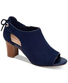 Hirah Tie-Back Peep-Toe Heels, Created for Macy's
