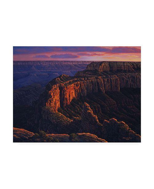 "Trademark Global R W Hedge Fleeting Embers Canvas Art - 36.5"" x 48"""