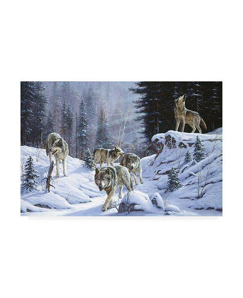 "Trademark Global R W Hedge Final Call Canvas Art - 36.5"" x 48"""