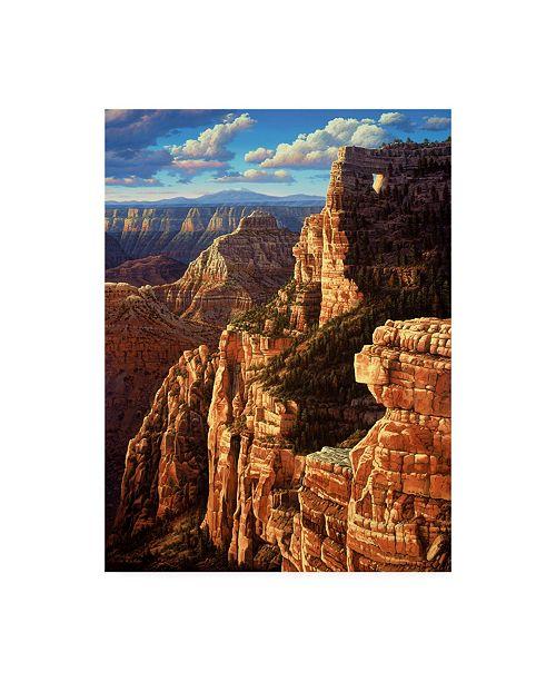 "Trademark Global R W Hedge Window to Heaven Canvas Art - 15.5"" x 21"""