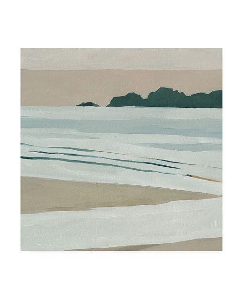 "Trademark Global Emma Scarvey Coastal Lines I Canvas Art - 15.5"" x 21"""