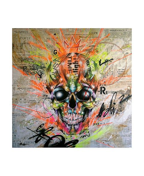 "Trademark Global Taka Sudo Globalized Folklore Canvas Art - 36.5"" x 48"""