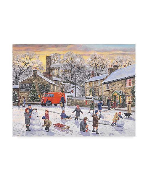 "Trademark Global Trevor Mitchell Christmas Holidays Canvas Art - 15.5"" x 21"""