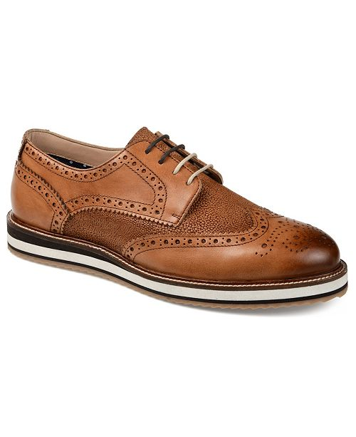 Thomas & Vine Men's Conrad Wingtip Derbies