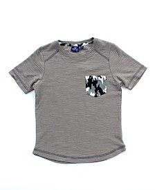 Bear Camp Little Boy Short Sleeve Pocket Tee
