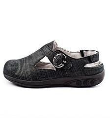 Shoe Chloe Adjustable Leather Clog