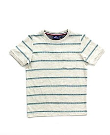 Bear Camp Little Boy Striped Short Sleeve Tee