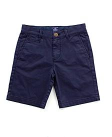 Big Boys Twill Dress Shorts