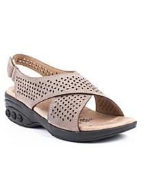Shoe Olivia Adjustable Cross Strap Sandal