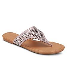 Olivia Miller Show Stopper Embellished Sandals
