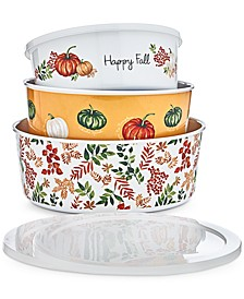 Nesting Containers & Lids, Set of 3, Created for Macy's