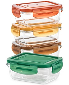 Glass Food Containers, Set of 4, Created for Macy's