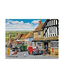 "Trevor Mitchell The Post Office Canvas Art - 15.5"" x 21"""