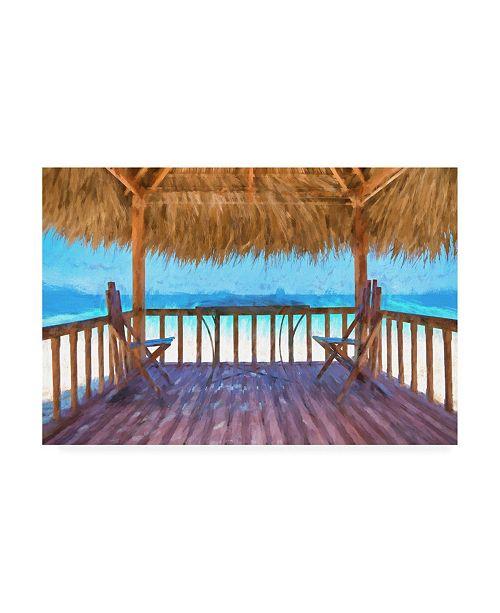 "Trademark Global Philippe Hugonnard Date Beach Canvas Art - 27"" x 33.5"""