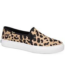 Double Decker Leopard Sneakers