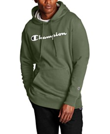 Champion Men's Powerblend Fleece Logo Hoodie