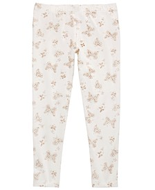 Toddler Girls Glitter Butterflies Leggings, Created for Macy's