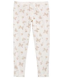 Epic Threads Toddler Girls Glitter Butterflies Leggings, Created for Macy's
