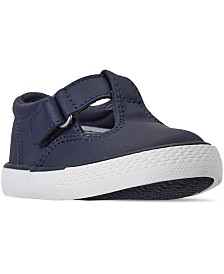 Polo Ralph Lauren Toddler Girls Tabby T-Strap Casual Sneakers from Finish Line