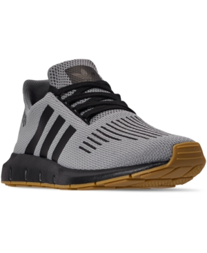 Adidas Men's Originals Swift Run Casual Sneakers From Finish Line in CharcoalGum