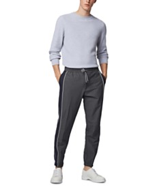 BOSS Men's Kirio-Tape Relaxed-Fit Jogging Bottoms