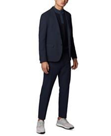 BOSS Men's Jannes Zip-Neck Sweater