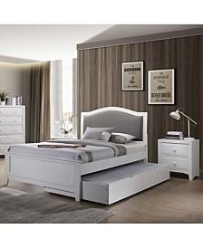 Furniture of America Lorvyn 2-Piece Twin Bedroom Set