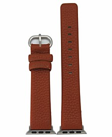 Women's Solid Color Leather Apple Watch Strap 42mm