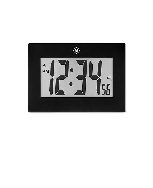 Marathon Large Digital Wall Clock