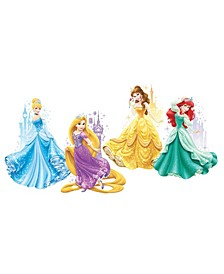 Disney Princesses and Castles Peel and Stick Giant Wall Decals