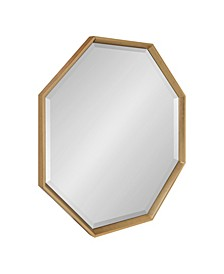 """Calter Framed Large Octagon Wall Mirror - 31.5"""" x 31.5"""""""