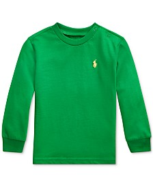 Polo Ralph Lauren Baby Boys Cotton Long-Sleeve T-Shirt