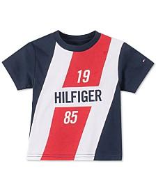 Tommy Hilfiger Baby Boys Logo-Print Cotton T-Shirt