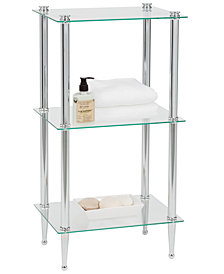 Creative Bath Accessories, 3 Shelf Tower