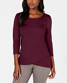 Tulip-Hem Top, Created for Macy's
