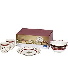 Villeroy & Boch Toys Delight 6 Piece White Breakfast Set