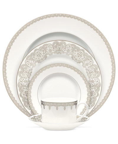 Waterford Lismore Lace Platinum Accent Plate