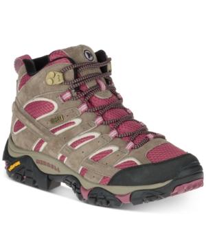 Merrell Women's Moab 2 Mid Waterproof Sneakers Women's Shoes
