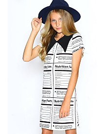 Lanoosh Big Girls A-Line Nutro Printed Dress