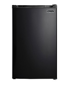 Magic Chef 4.4 Cubic Feet Refrigerator with Full-Width Freezer Compartment