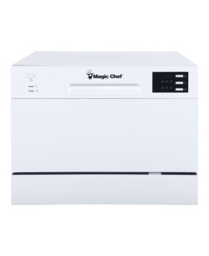 Magic Chef Energy Star 6-Place Setting Countertop Dishwasher