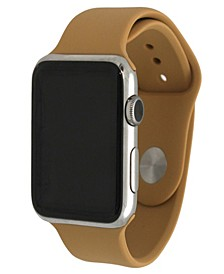 Women's Silicone Solid Color Apple Watch Strap 38mm