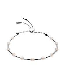 Skagen Women's Anette Stainless Steel Glass Beaded Bracelet